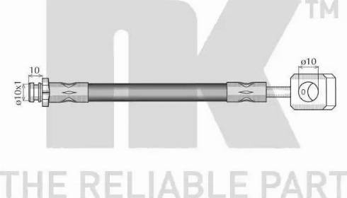 NK 855001 - Pidurivoolik multiparts.ee