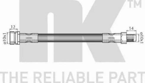 NK 8525154 - Pidurivoolik multiparts.ee
