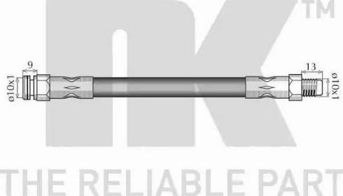 NK 8523106 - Pidurivoolik multiparts.ee