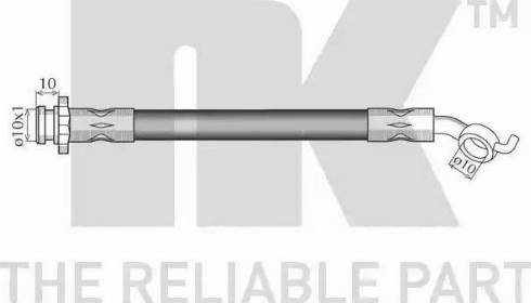 NK 8522112 - Pidurivoolik multiparts.ee