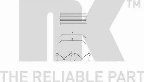 NK 7945701 - Lisakomplekt, ketaspiduriklotsid multiparts.ee