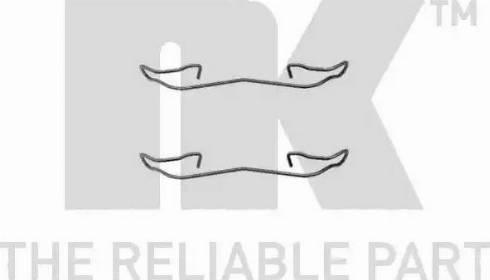 NK 7925187 - Lisakomplekt, ketaspiduriklotsid multiparts.ee