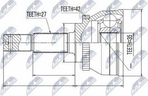 NTY NPZ-NS-080 - Veovõll multiparts.ee