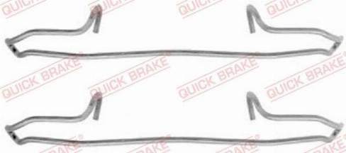 OJD Quick Brake 1091159 - Lisakomplekt, ketaspiduriklotsid multiparts.ee
