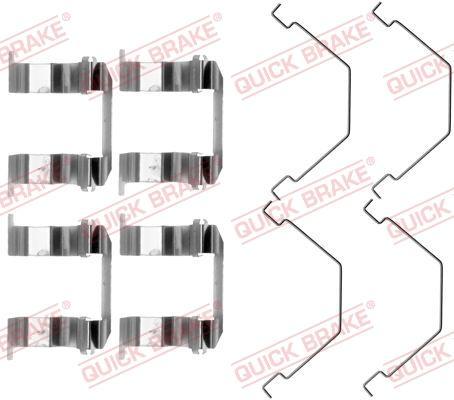 OJD Quick Brake 1091158 - Lisakomplekt, ketaspiduriklotsid multiparts.ee
