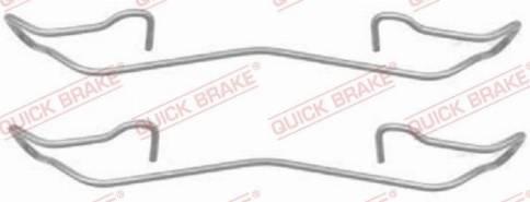 OJD Quick Brake 1091187 - Lisakomplekt, ketaspiduriklotsid multiparts.ee