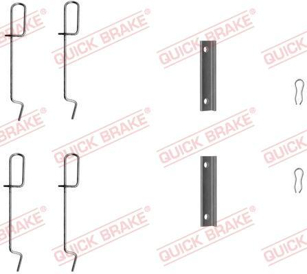 OJD Quick Brake 1091125 - Lisakomplekt, ketaspiduriklotsid multiparts.ee
