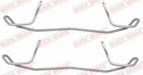 OJD Quick Brake 1091123 - Lisakomplekt, ketaspiduriklotsid multiparts.ee