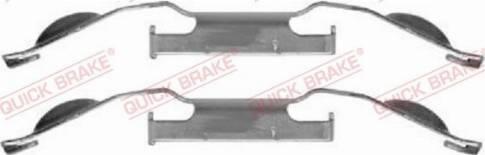 OJD Quick Brake 1091221 - Lisakomplekt, ketaspiduriklotsid multiparts.ee