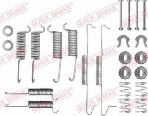 OJD Quick Brake 105-0571 - Lisakomplekt, Piduriklotsid multiparts.ee