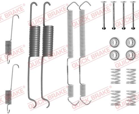 OJD Quick Brake 1050691 - Lisakomplekt, Piduriklotsid multiparts.ee
