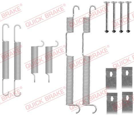 OJD Quick Brake 1050844 - Lisakomplekt, Piduriklotsid multiparts.ee