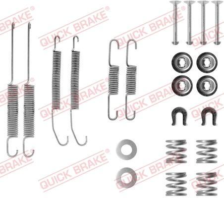 OJD Quick Brake 1050718 - Lisakomplekt, Piduriklotsid multiparts.ee