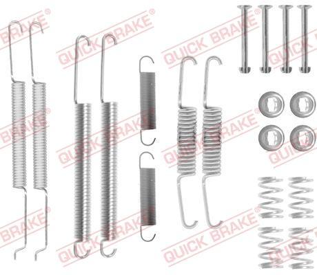 OJD Quick Brake 1050726 - Lisakomplekt, Piduriklotsid multiparts.ee