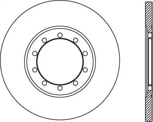 Open Parts BDA2436.10 - Piduriketas multiparts.ee