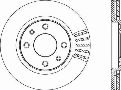 Open Parts BDR1714.20 - Piduriketas multiparts.ee