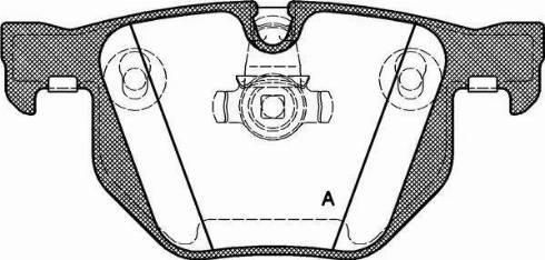 Open Parts BPA0381.60 - Piduriklotsi komplekt,ketaspidur multiparts.ee