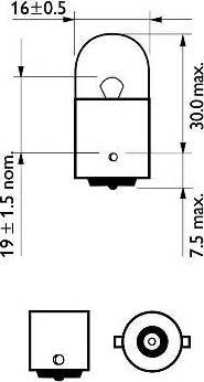 PHILIPS 12814CP - Hõõgpirn,sisenemisvalgus multiparts.ee