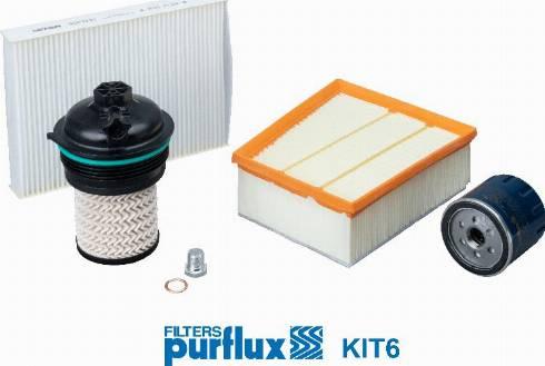 Purflux KIT6 - Filter-komplekt multiparts.ee