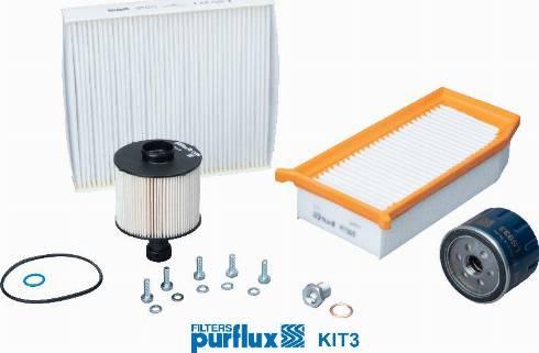 Purflux KIT3 - Filter-komplekt multiparts.ee