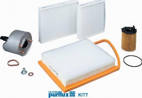 Purflux KIT7 - Filter-komplekt multiparts.ee