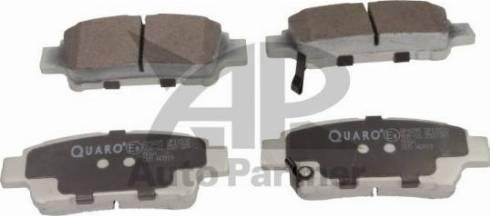 QUARO QP4295 - Piduriklotsi komplekt,ketaspidur multiparts.ee