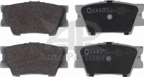 QUARO QP5571 - Piduriklotsi komplekt,ketaspidur multiparts.ee