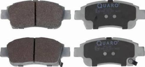 QUARO QP1296 - Piduriklotsi komplekt,ketaspidur multiparts.ee