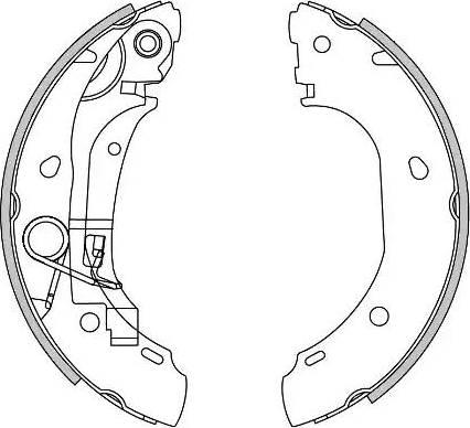 Remsa 4163.00 - Piduriklotside komplekt multiparts.ee
