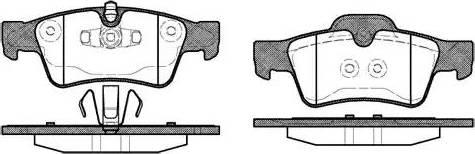 Remsa 0991.10 - Piduriklotsi komplekt,ketaspidur multiparts.ee