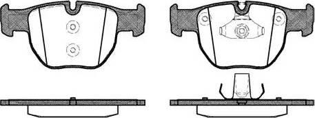 Remsa 0979.00 - Piduriklotsi komplekt,ketaspidur multiparts.ee