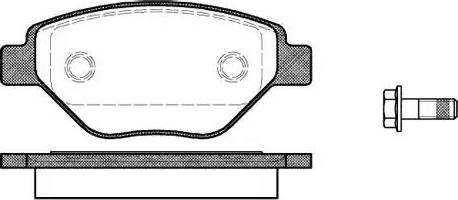 Remsa 0977.00 - Piduriklotsi komplekt,ketaspidur multiparts.ee