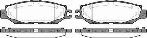 Remsa 0457.00 - Piduriklotsi komplekt,ketaspidur multiparts.ee
