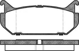 Remsa 0416.00 - Piduriklotsi komplekt,ketaspidur multiparts.ee