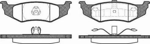 Remsa 0482.40 - Piduriklotsi komplekt,ketaspidur multiparts.ee