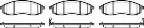 Remsa 0598.12 - Piduriklotsi komplekt,ketaspidur multiparts.ee