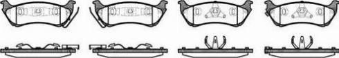 Remsa 0698.01 - Piduriklotsi komplekt,ketaspidur multiparts.ee