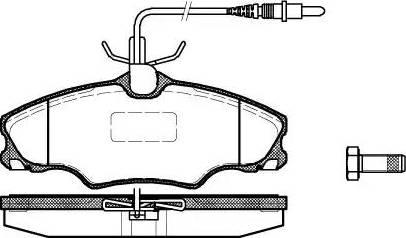 Remsa 0603.04 - Piduriklotsi komplekt,ketaspidur multiparts.ee
