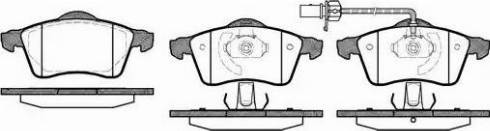 Remsa 0618.01 - Piduriklotsi komplekt,ketaspidur multiparts.ee
