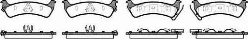 Remsa 0629.02 - Piduriklotsi komplekt,ketaspidur multiparts.ee