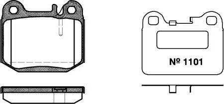 Remsa 0014.40 - Piduriklotsi komplekt,ketaspidur multiparts.ee
