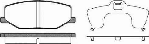 Remsa 0190.10 - Piduriklotsi komplekt,ketaspidur multiparts.ee