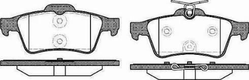 Delphi LP1958 - Piduriklotsi komplekt,ketaspidur multiparts.ee