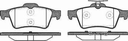 Cifam 822-337-3 - Piduriklotsi komplekt,ketaspidur multiparts.ee