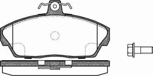 Remsa 0337.10 - Piduriklotsi komplekt,ketaspidur multiparts.ee