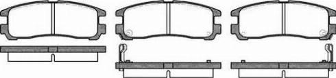 Remsa 0291.02 - Piduriklotsi komplekt,ketaspidur multiparts.ee