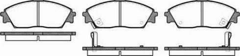 Remsa 0229.02 - Piduriklotsi komplekt,ketaspidur multiparts.ee