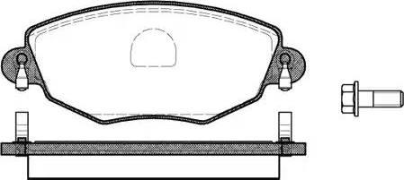 Remsa 0776.00 - Piduriklotsi komplekt,ketaspidur multiparts.ee