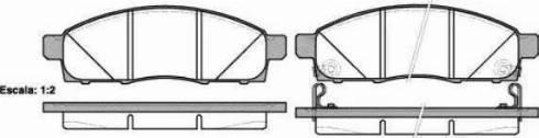 Cifam 822-791-0 - Piduriklotsi komplekt,ketaspidur multiparts.ee