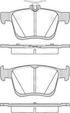 Remsa 1516.00 - Piduriklotsi komplekt,ketaspidur multiparts.ee